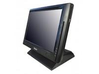 """POS-компьютер моноблок Sam4s SPT-3700, no RAM/no HDD, монитор 15"""" сенсорный, черный (4xCOM)"""