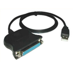 Переходник DB25 USB to serial cable