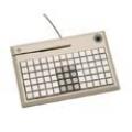 POS-клавиатура NCR 5932-7XXX программируемая PS/2 на 78 клавиш с ридером (3 дорожки)